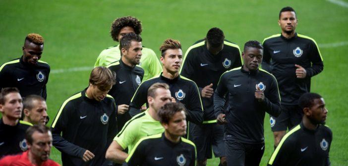 Opstelling Kopenhagen – Club Brugge