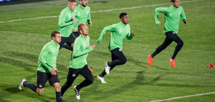 Opstelling FK Rostov – PSV