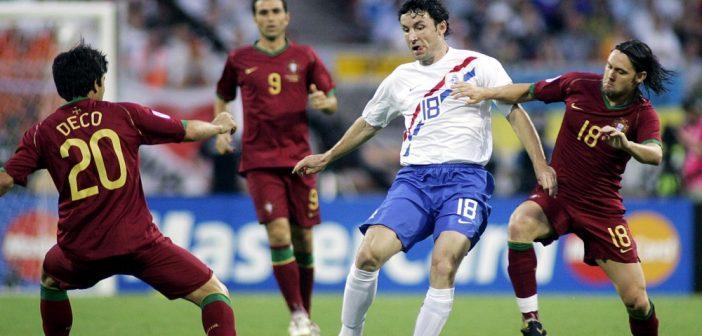Het elftal van toen: Portugal tegen Nederland in de achtste finale van het WK in 2006
