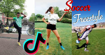 Voetbal freestyle video's